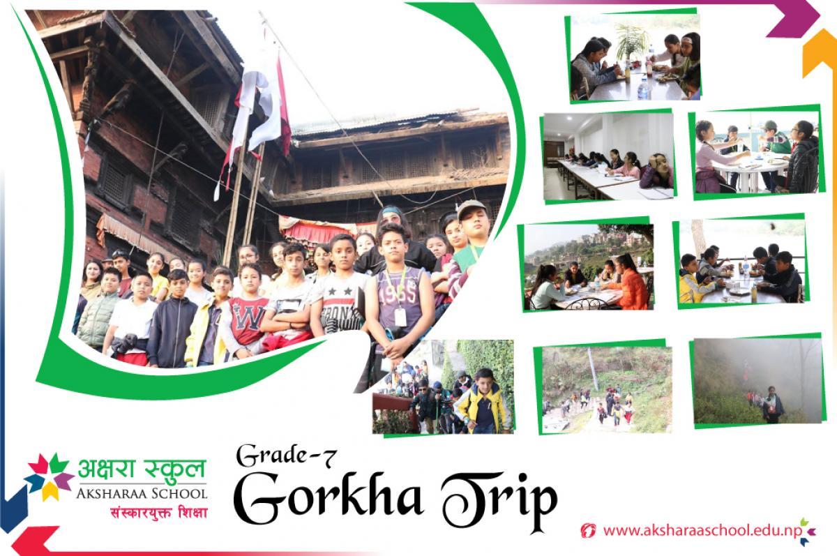 Gorkha Trip - Grade 7 of Aksharaa School